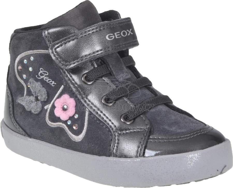 Dětské celoroční boty Geox B94D5A 022HI C9002