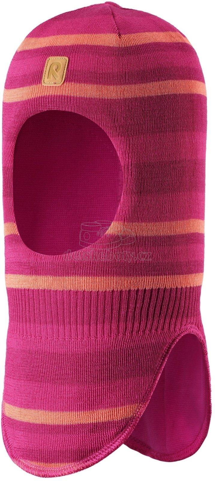 Dětská zimní kukla Reima 518528 raspberry pink