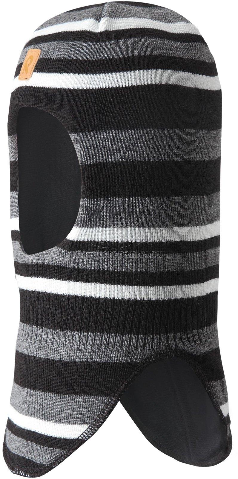 Detská zimná kukla Reima 518528 black