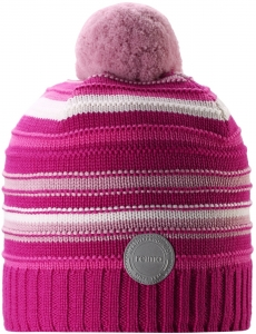 Dětská zimní čpice Reima 538080-4652 raspberry pink