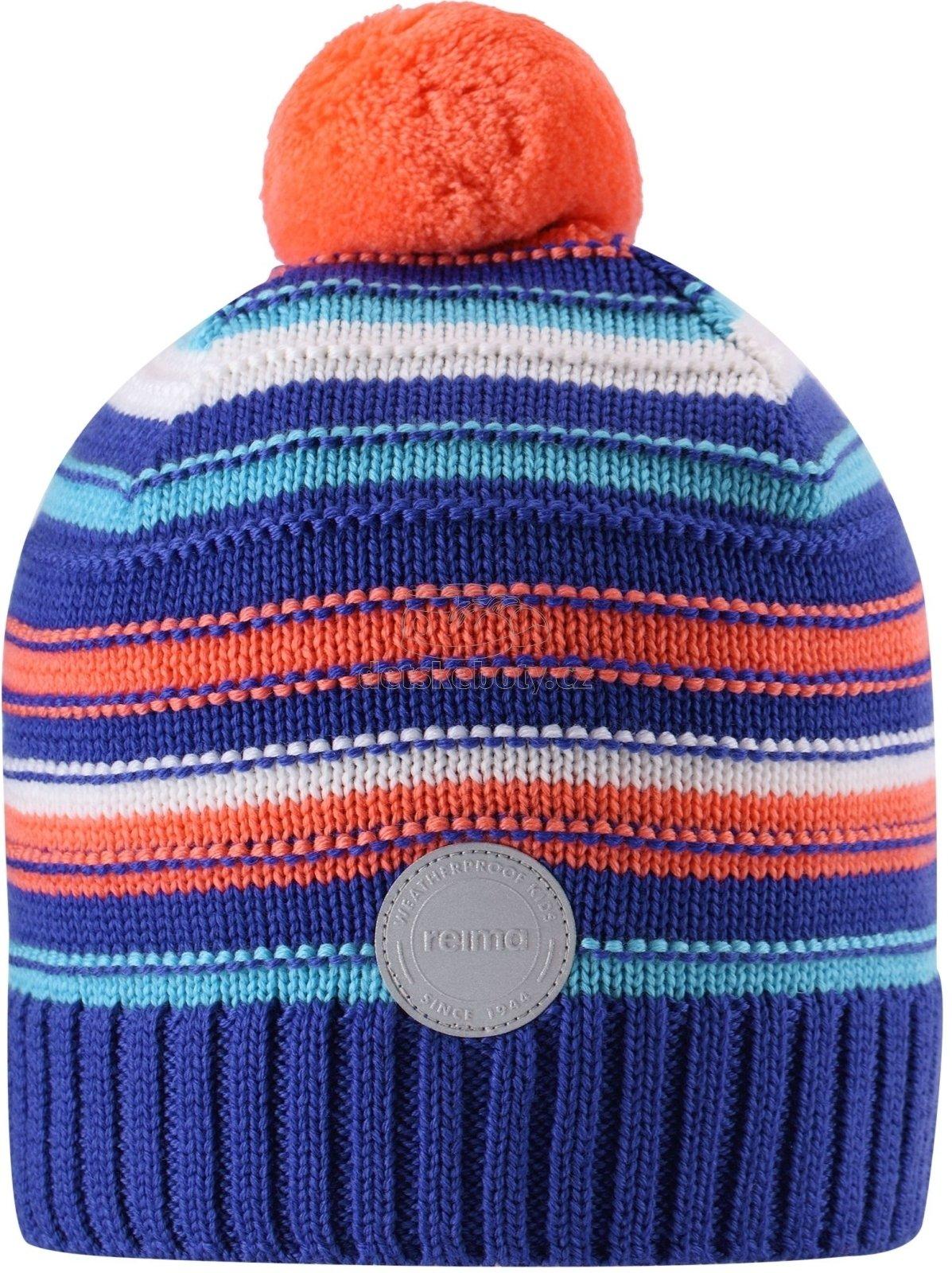 Dětská zimní čpice Reima 538080-5811 violet
