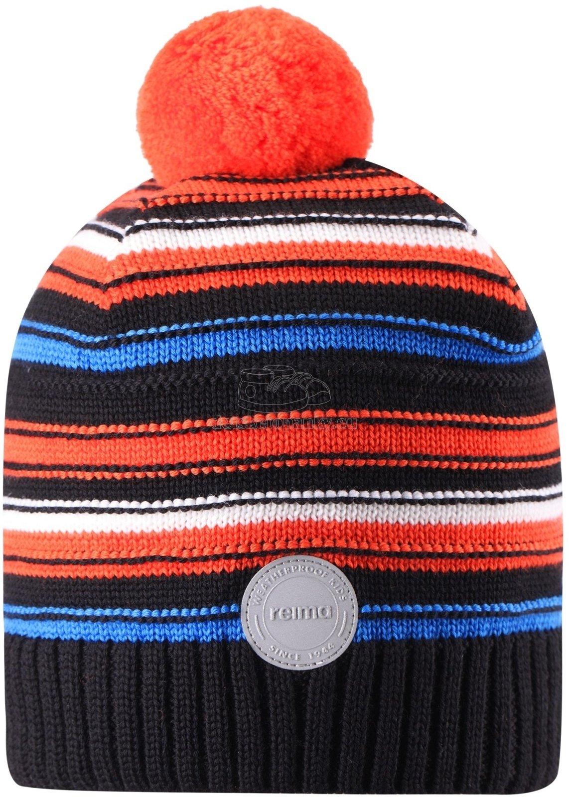 Detská zimná čiapka Reima 538080-9991 black