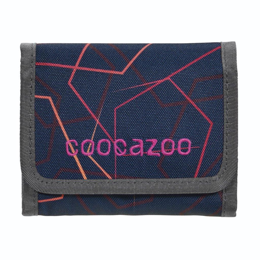 Peněženka coocazoo CashDash, Laserbeam Plum
