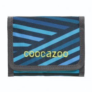 Peněženka coocazoo CashDash, Zebra Stripe Blue