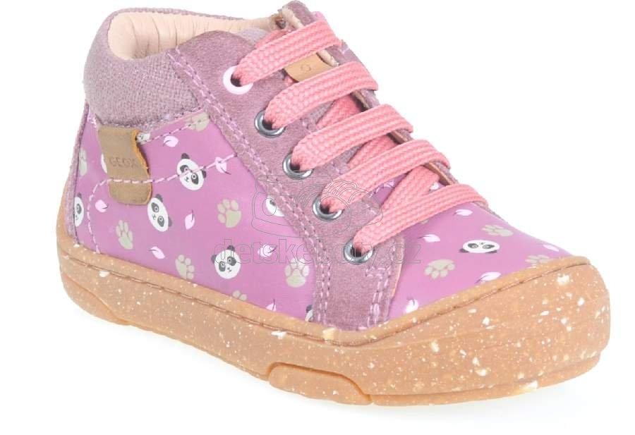 Dětské celoroční boty Geox B943GA 043ED C8007