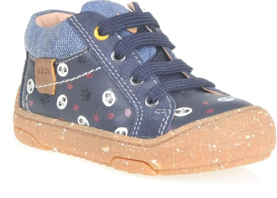 Dětské celoroční boty Geox B943DD 04310 C4021
