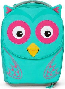 Dětský cestovní kufřík Affenzahn Suitcase Olivia Owl - turquoise