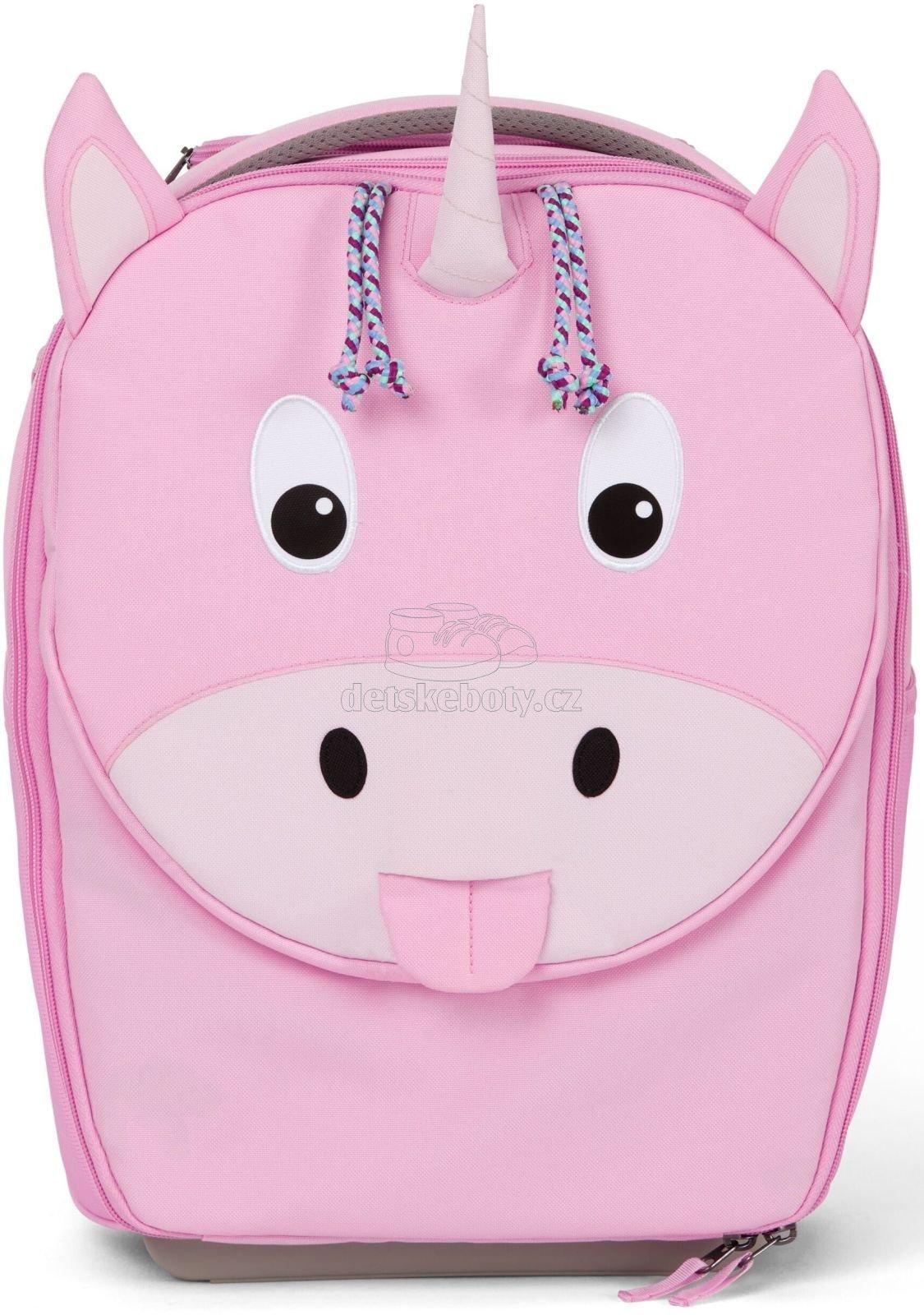 Dětský cestovní kufřík Affenzahn Suitcase Ulrike Unicorn - pink