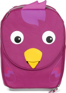 Detský cestovný kufrík Affenzahn Trolley Bella Bird - purple