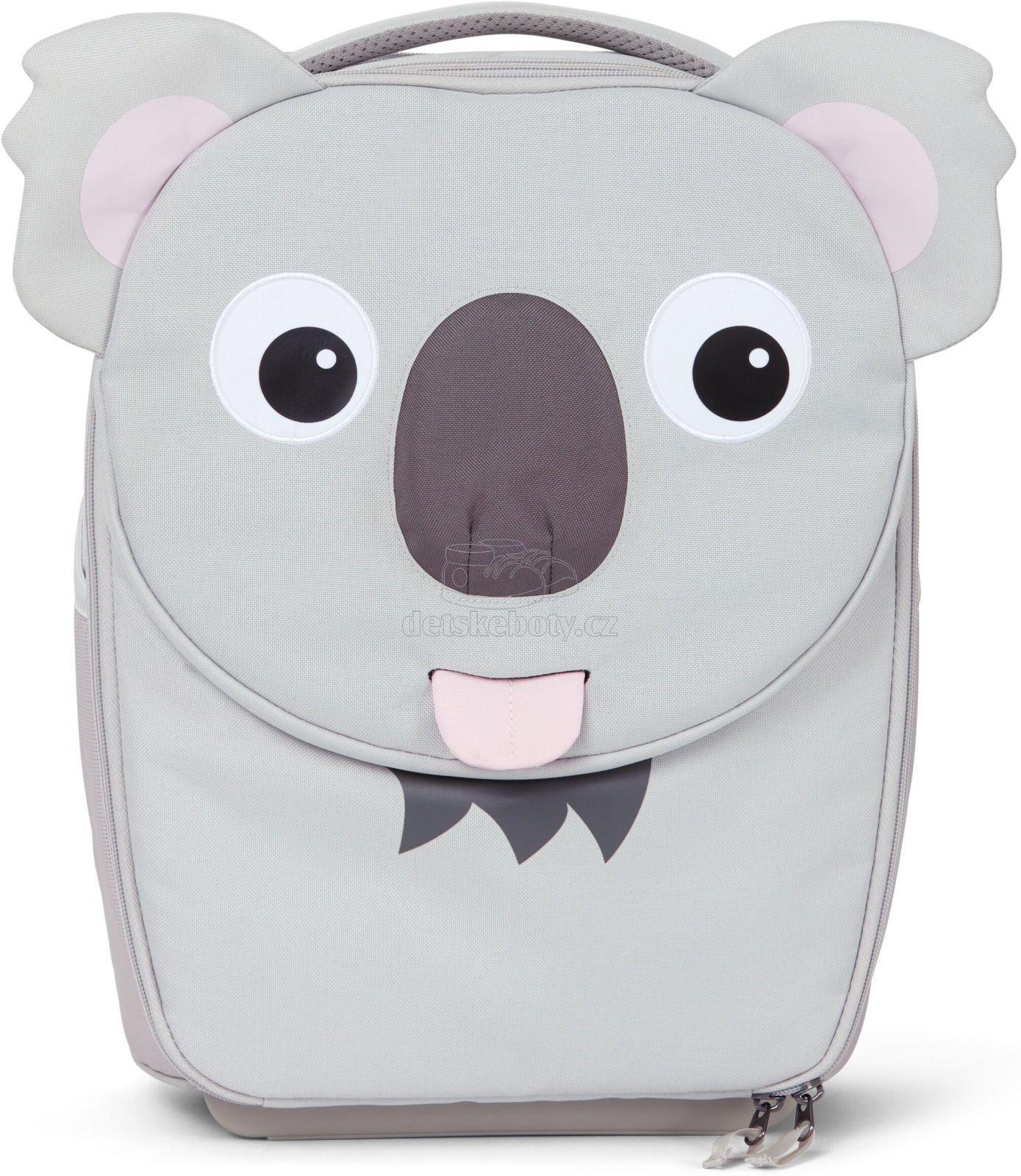 Dětský cestovní kufřík Affenzahn Suitcase Koala Karla - grey