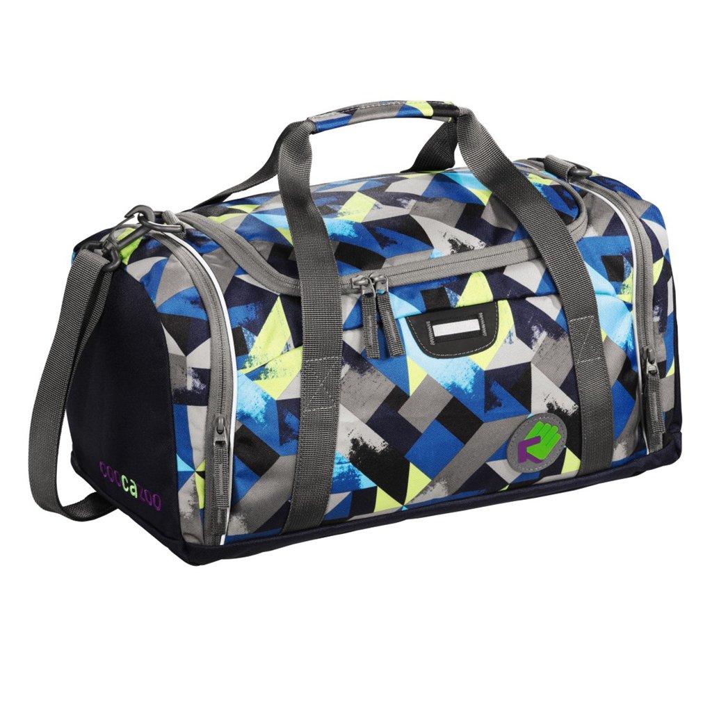 SporterPorter Sports Bag, Wanna Be Check Lime