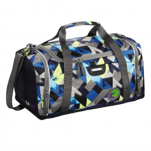 SporterPorter Sports Bag, Wanna Be Check Lime