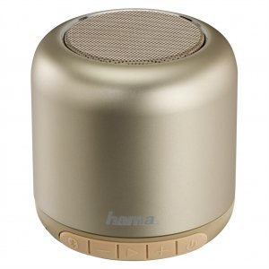 Hama Steel Drum Mobile Bluetooth Loudspeaker, gold