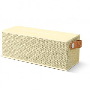 FRESH ´N REBEL Rockbox Brick Fabriq Edition Bluetooth reproduktor, Buttercup, světle žlutý