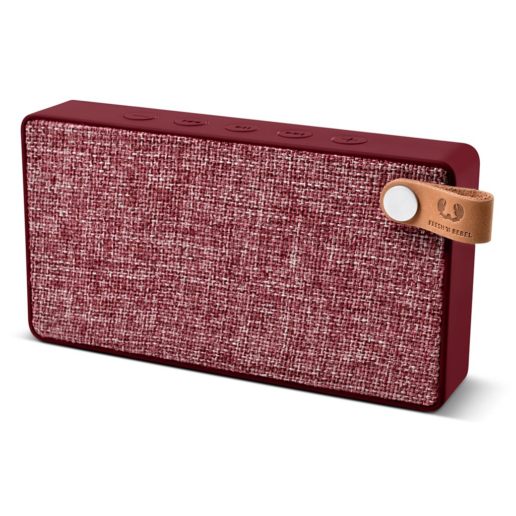FRESH ´N REBEL Rockbox Slice Fabriq Edition Bluetooth reproduktor, Ruby, rubínově červený