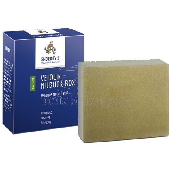 Shoeboy's Čistící kostka na semiš VELOUR NUBUCK BOX
