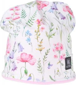 Dětská zimní čepice Blonki Lučné kvety