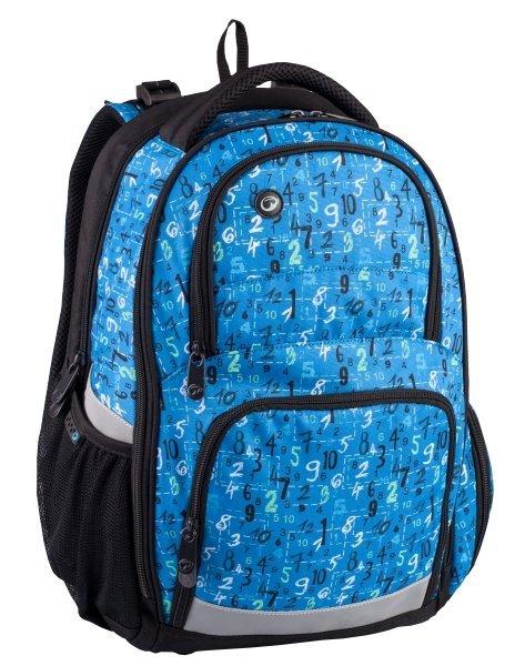 Školní batoh pro kluky ORION 0314 A modrý