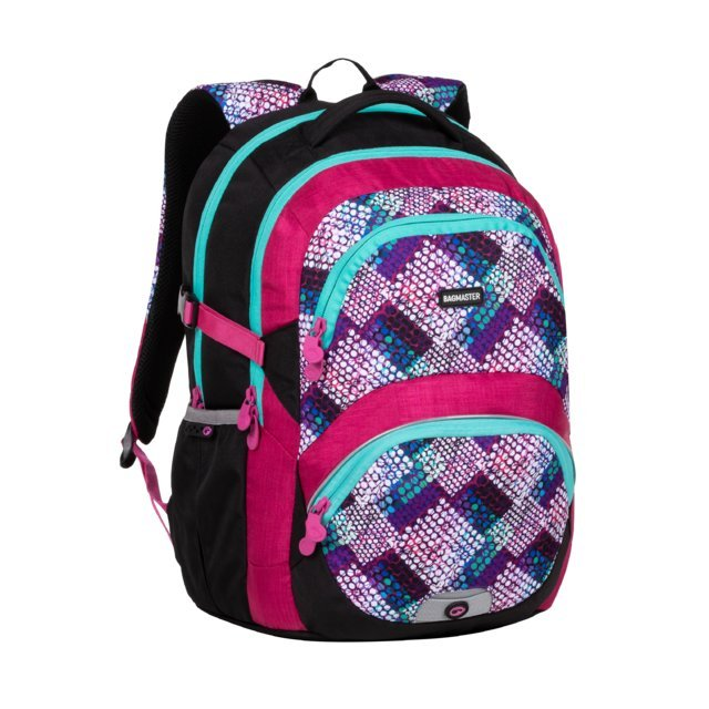 BAGMASTER THEORY 20 A PINK/TURQUOISE/WHITE