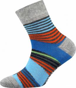 Detské ponožky VoXX Woodik sivá