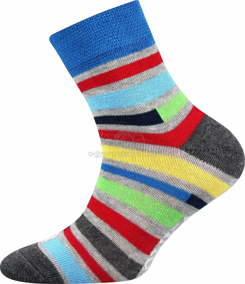 Gyerek zokni Lonka Woodik világos kék