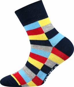 Detské ponožky VoXX Woodik tmavo modrá