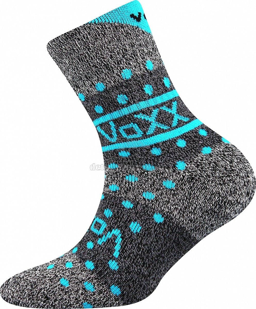 Detské ponožky VoXX Hawkik tyrkys