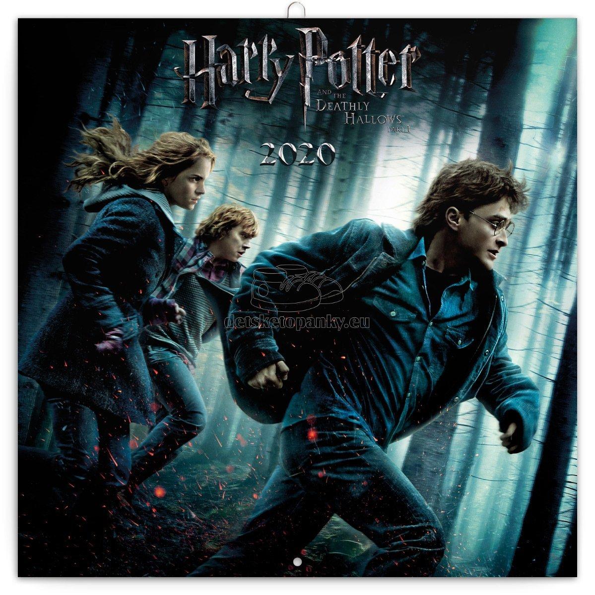 Poznámkový kalendář Harry Potter 2020, 30 × 30 cm, PGP-6718
