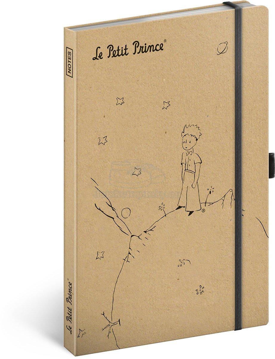 Notes Malý princ – Prince Craft linkovaný, 13 × 21 cm, A-7348