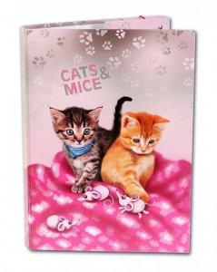 Školní box A4 Cats & Mice D-3021-2.118