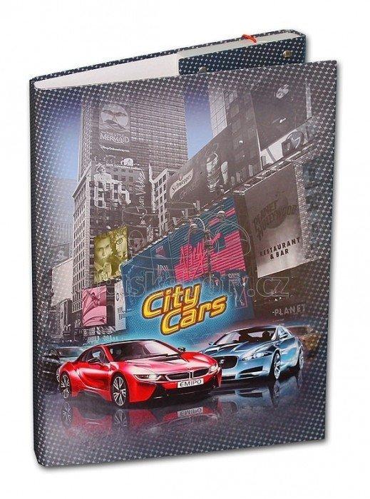 Emipo školní box A4 City Cars D-3021-2.114