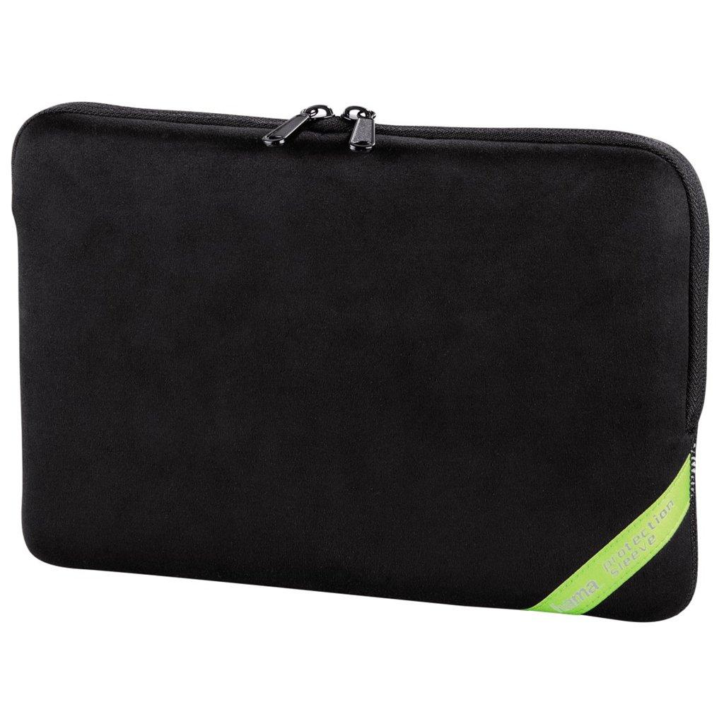 "Hama velour obal na notebook, 26 cm (10,2""), čierna"