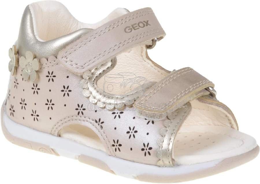 Dětské letní boty Geox B020YA 044AJ C5000