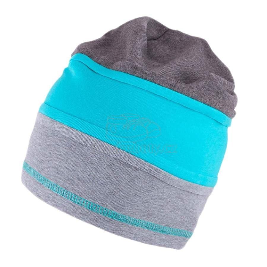Dětská jarní čepice TUTU 3-003609 silver-turquoise