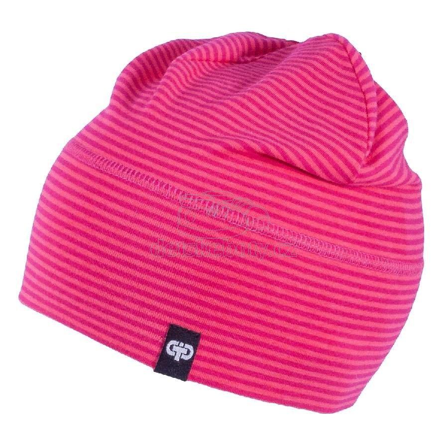 Dětská jarní čepice TUTU 3-004633 s.pink