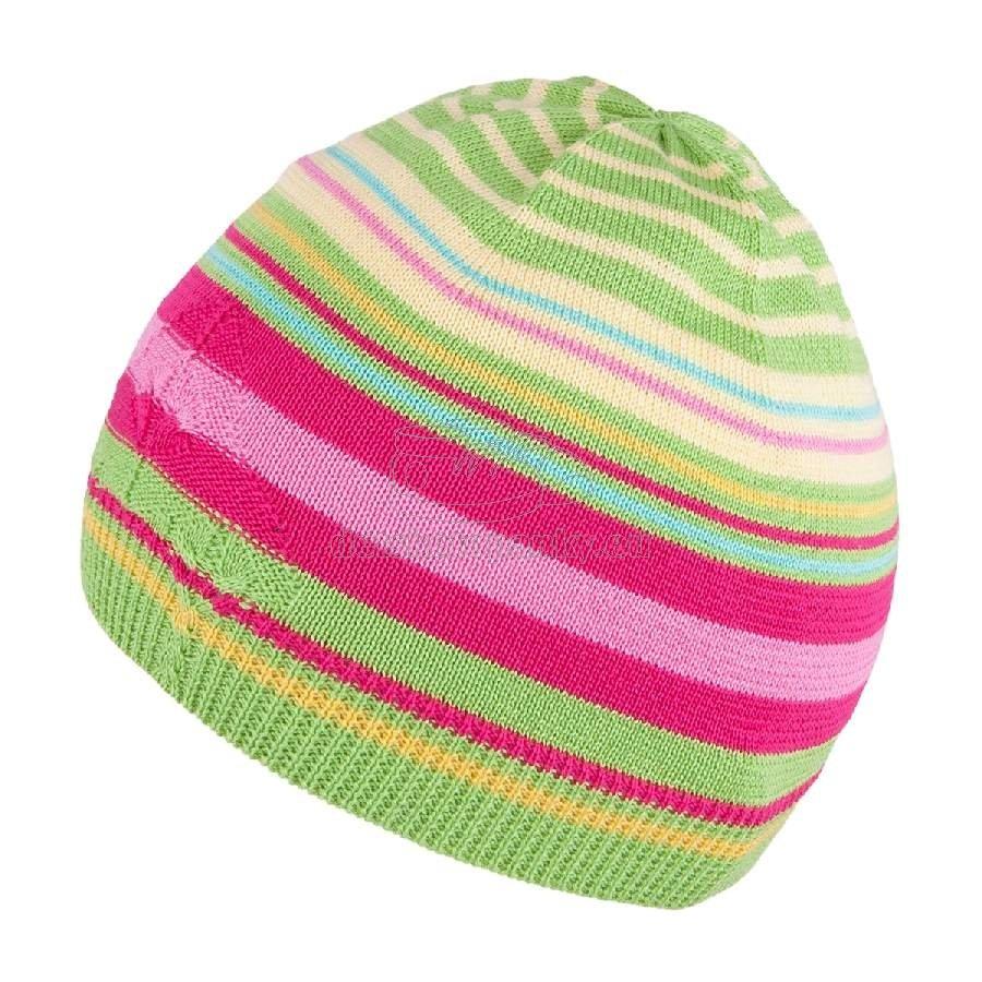 Detská jarná čiapka TUTU 3-003495 green