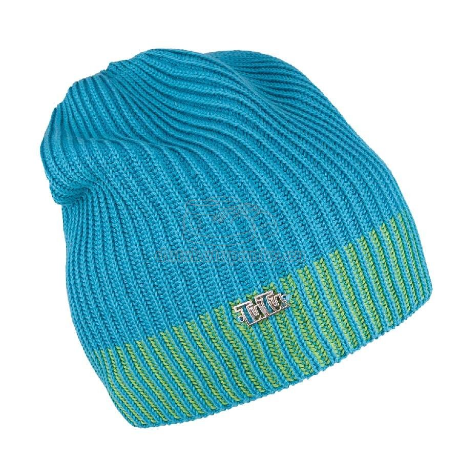Detská jarná čiapka TUTU 3-003505 turquoise