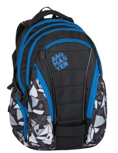 batoh Bagmaster BAG 7 H BLACK/GREY/BLUE