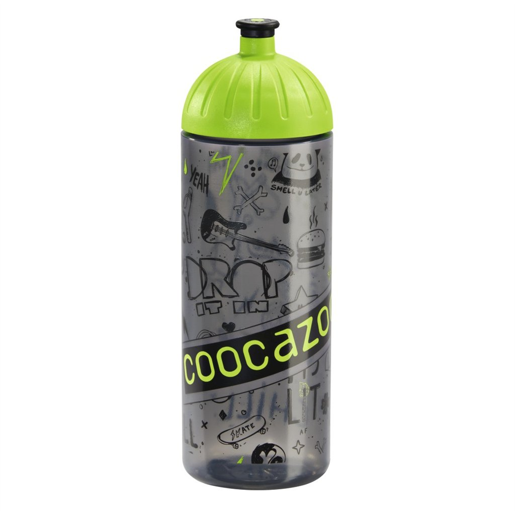 Coocazoo JuicyLucy fľaška na nápoj 0,7 l, Coocazoo, zelená