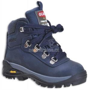 Turistické topánky Olang Logan 82 blu