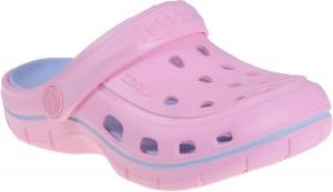 Detské plážovky Coqui 6353 pink/candy blue