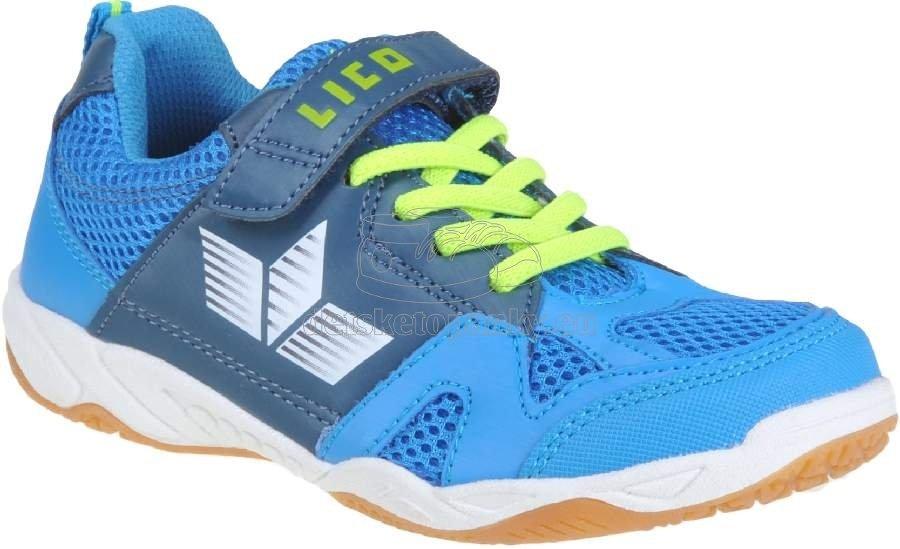 Detské tenisky LICO 360443 blau/marine/lemon