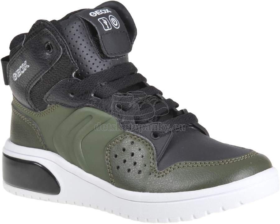 Detské celoročné topánky Geox J947QA 0BCBU C0498