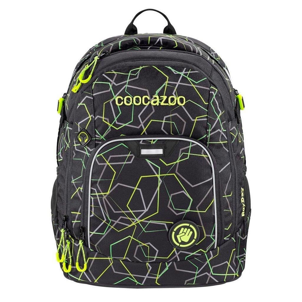 Iskolatáska coocazoo RayDay, Laserbeam Black