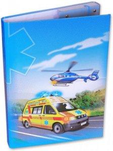 Školní box A4 Záchranáři D-3021-2.105