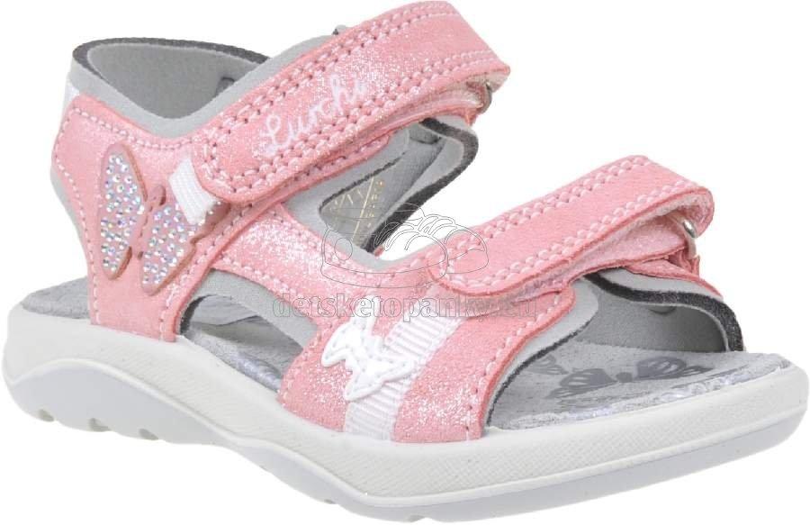 Detské letné topánky Lurchi 33-18806-23