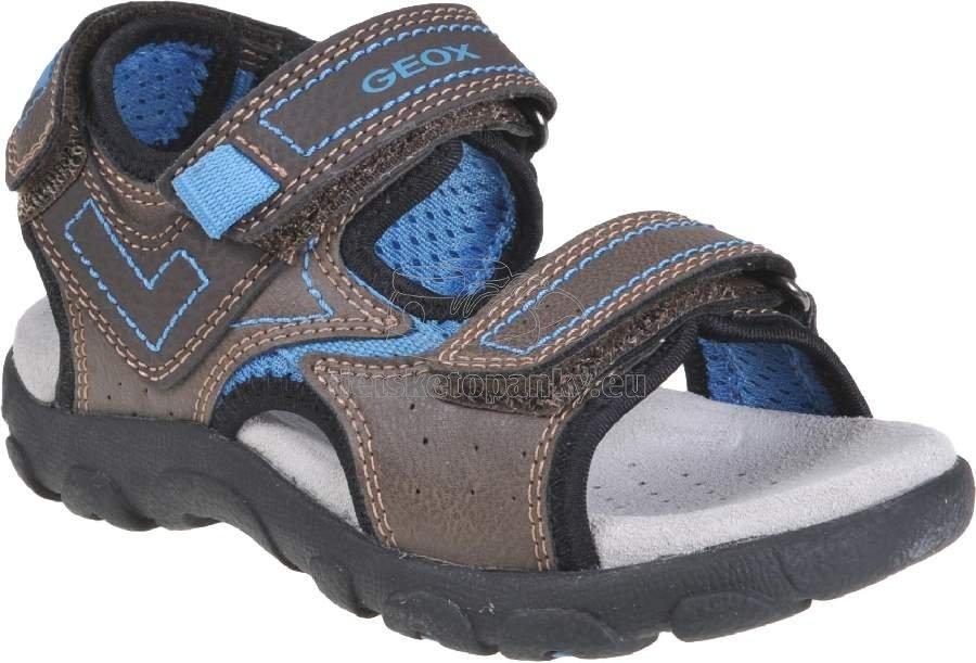 Detské letné topánky Geox J0224A 0MECE C6402