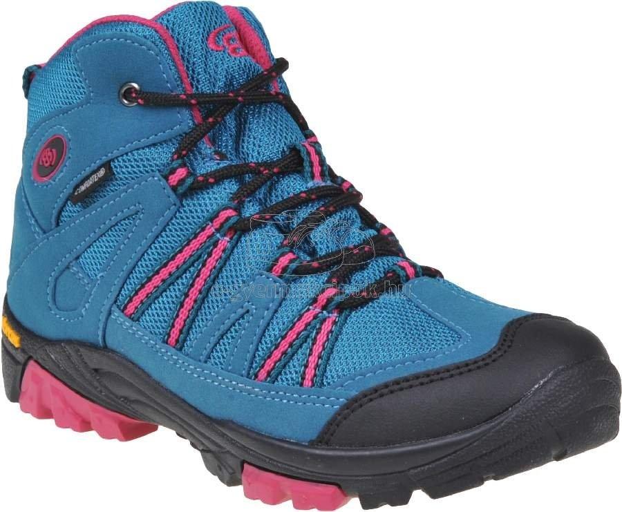 Trekking cipő Brütting 231079 tyrkys/pink