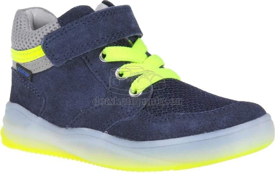 Detské celoročné topánky Richter 6756-7111-7201