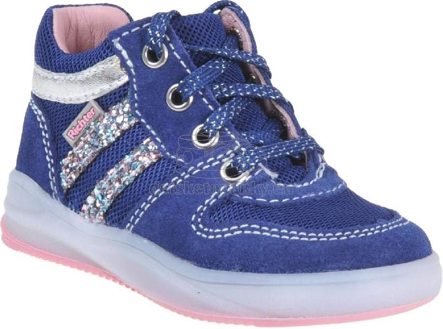 Detské celoročné topánky Richter 1345-7111-6821